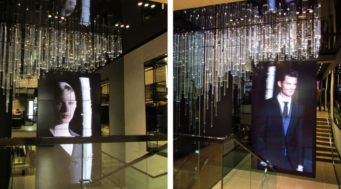 ceiling-and-stairs-hugoboss-sloane-square-london-mjlighting