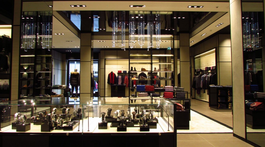 internal-counter-hugoboss-sloane-square-london-mjlighting